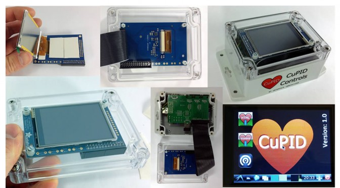 CuPID Touchscreen I : Touchscreen in a box