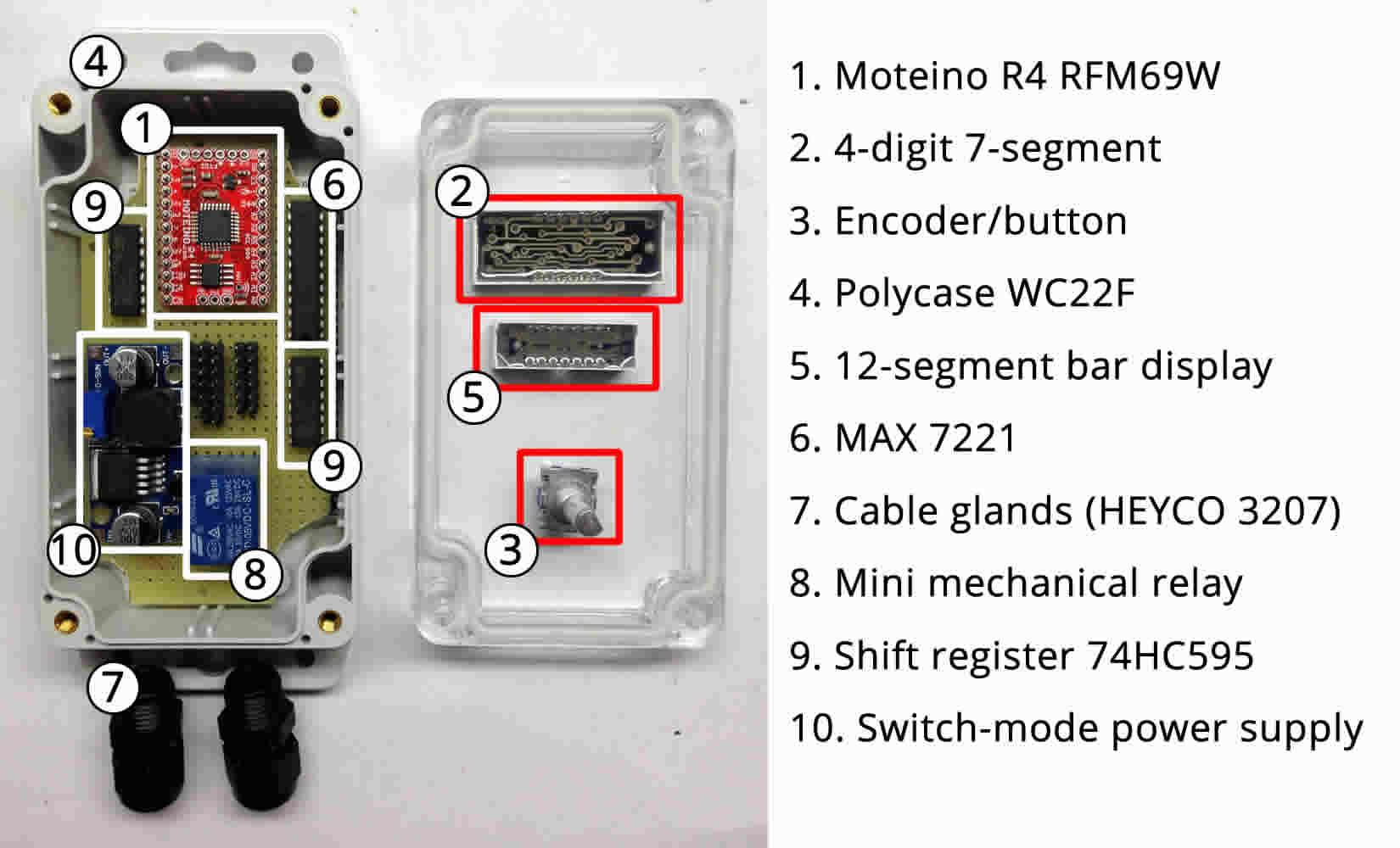 Colin Cupid Controls Page 2 Wiringpi Pull Up Down Layout Of All Components Within Our Enclosure We Dont Use These